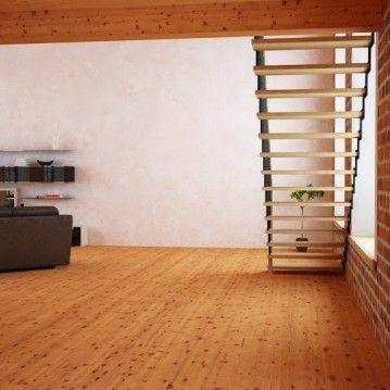 Tiesūs išlengvinti mediniai laiptai SA 14