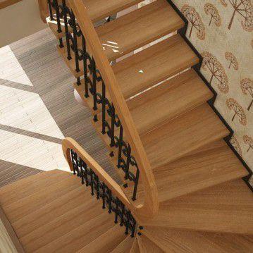 Išlengvinti laiptai interjere SA 10