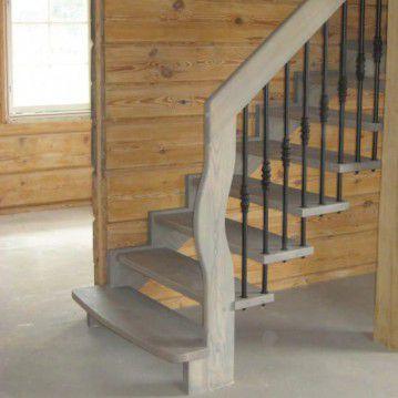 Mediniai sąvaržiniai laiptai SA 36